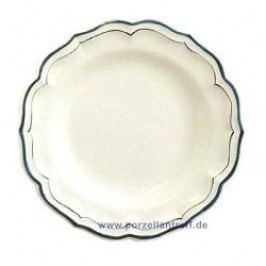 Gien Filets Bleus Round Platter Deep 31 cm