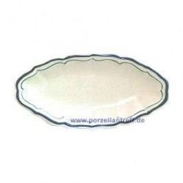Gien Filets Bleus Side Dish 26.5 x 13.2 cm
