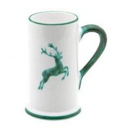 Gmundner Ceramics Green Deer Beer Jug Form A 0.3 l