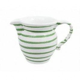 Gmundner Keramik Grüngeflammt Milk jug plain 0.5 l