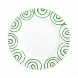 Gmundner Keramik Grüngeflammt Dinner plate Gourmet 27 cm