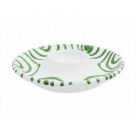 Gmundner Keramik Grüngeflammt Egg cup plain 12 cm