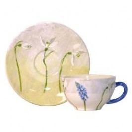 Gien Alice Coffee/ tea cup saucer, 15.2 cm
