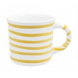 Gmundner Keramik Gelbgeflammt Mug with handle 0.24 l
