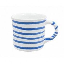 Gmundner Keramik Blaugeflammt Mug with handle plain 0.24 l