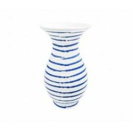 Gmundner Keramik Blaugeflammt Vase Form Al 11 cm
