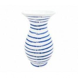 Gmundner Keramik Blaugeflammt Vase Form Al 16 cm