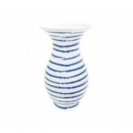Gmundner Keramik Blaugeflammt Vase Form Al 21 cm