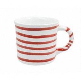 Gmundner Keramik Rotgeflammt Mug with Handle Smooth 0.24 l