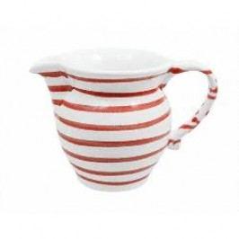 Gmundner Keramik Rotgeflammt Milk Jug Smooth 0.5 l