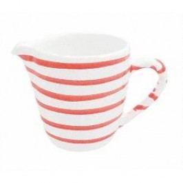 Gmundner Keramik Rotgeflammt Milk Jug Gourmet 0.2 l