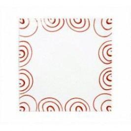 Gmundner Keramik Rotgeflammt Charger Plate / Underplate Square 31 cm