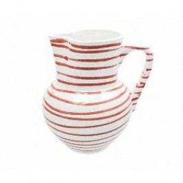 Gmundner Keramik Rotgeflammt Jug Wiener Form 1 l
