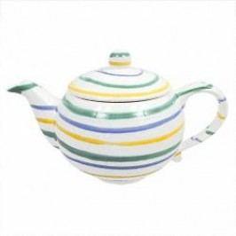 Gmundner Keramik Buntgeflammt Tea pot 1.5 l