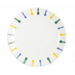 Gmundner Keramik Buntgeflammt Breakfast / dessert plate Cup 20 cm