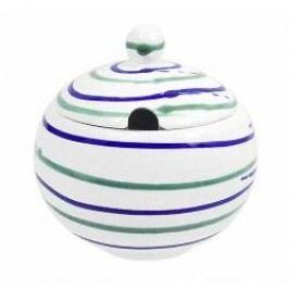 Gmundner Ceramics Traunsee Sugar Bowl Smooth with Cutout 10 cm
