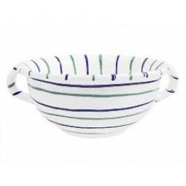Gmundner Ceramics Traunsee Bowl with Handle 25 cm