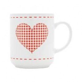 Friesland Happymix Weihnachten Weiß Cup 'Herz', 0.25 L