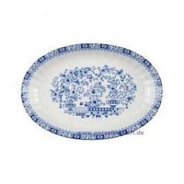 Seltmann Weiden Dorothea China Blue Oval Platter 31 cm