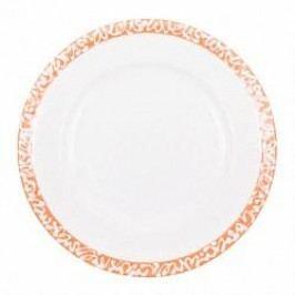 Gmundner Keramik Selektion Orange Breakfast Plate Gourmet 18 cm