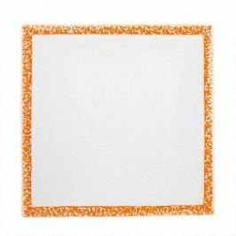 Gmundner Keramik Selektion Orange Breakfast plate square 20 cm