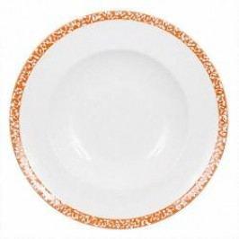 Gmundner Keramik Selektion Orange Dinner plate Gourmet 29 cm
