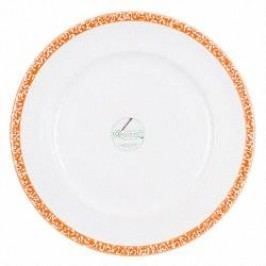 Gmundner Keramik Selektion Orange Dinner plate Gourmet 29 cm