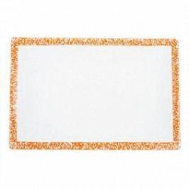 Gmundner Keramik Selektion Orange Platter rectangular 30 cm