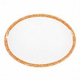 Gmundner Keramik Selektion Orange Platter oval 28 cm