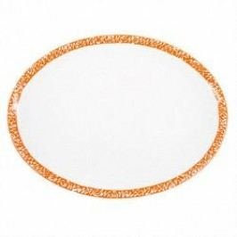 Gmundner Keramik Selektion Orange Platter oval 33 cm