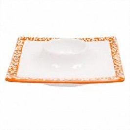 Gmundner Keramik Selektion Orange Egg cup 12 cm