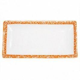 Gmundner Keramik Selektion Orange Snack tray 22 cm