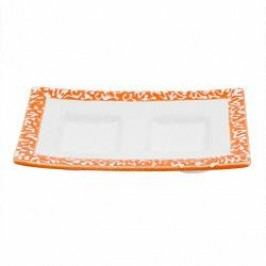 Gmundner Keramik Selektion Orange Saucer 13 cm