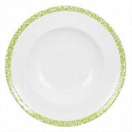 Gmundner Keramik Selektion Apfelgrün Soup plate Gourmet 24 cm