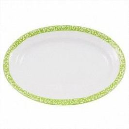 Gmundner Keramik Selektion Apfelgrün Platter oval Gourmet 21 cm