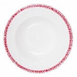 Gmundner Keramik Selektion Rubinrot Soup plate Gourmet 24 cm