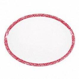 Gmundner Keramik Selektion Rubinrot Platter oval 28 cm
