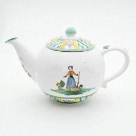 Gmundner Keramik Jagd Tea pot plain 1.5 l