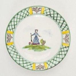 Gmundner Keramik Jagd Soup plate Cup 20 cm