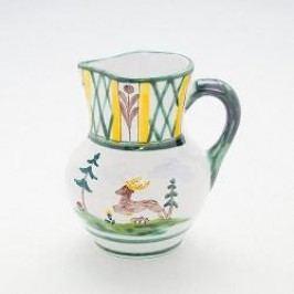 Gmundner Keramik Jagd Jug Wiener Form 0.5 l