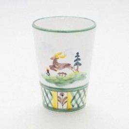 Gmundner Keramik Jagd Drinking cup h: 10 cm