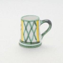 Gmundner Keramik Jagd Jug Stamperl h: 5 cm