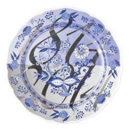 Hutschenreuther 200 Jahre Blaue Leidenschaft Decorative plate 'Blaue Erinnerung', 27 cm