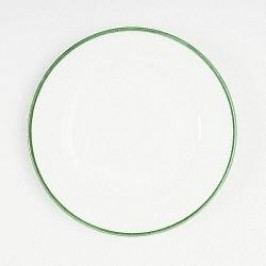 Gmundner Keramik Grüner Rand Dessert Plate Gourmet 18 cm