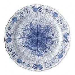 Hutschenreuther 200 Jahre Blaue Leidenschaft Decorative plate 'Blauer Kompass', 27 cm