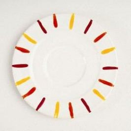 Gmundner Ceramics Landlust Coffee Saucer Gourmet 16 cm
