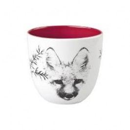 Hutschenreuther Märchenwald - Leuchter & Kerzen Tea Light Holder big 'Fox' h: 7.8 cm / d: 8.7 cm