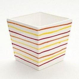 Gmundner Ceramics Landlust Planter Square 15 cm