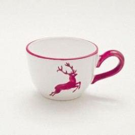 Gmundner Ceramics Red Deer Coffee Cup Smooth 0.19 l