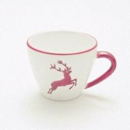 Gmundner Ceramics Red Deer Coffee Cup Gourmet 0.2 l